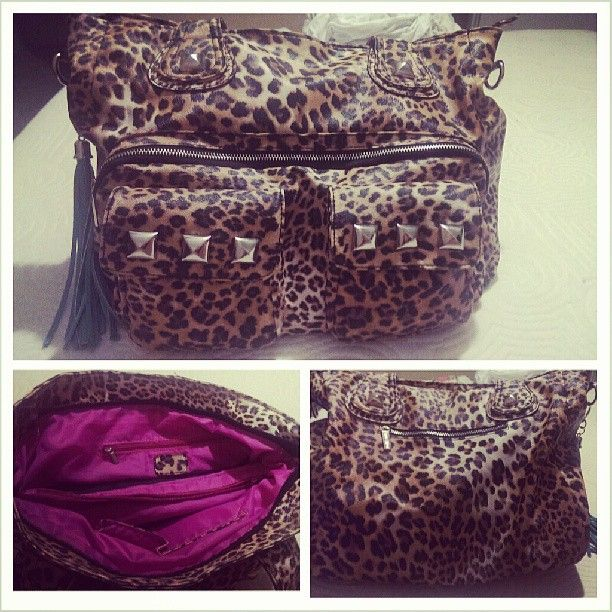 I Got The Leopard Print Kandee Johnson Handbag From My Boyfriend Today For Birthday Loove It 3