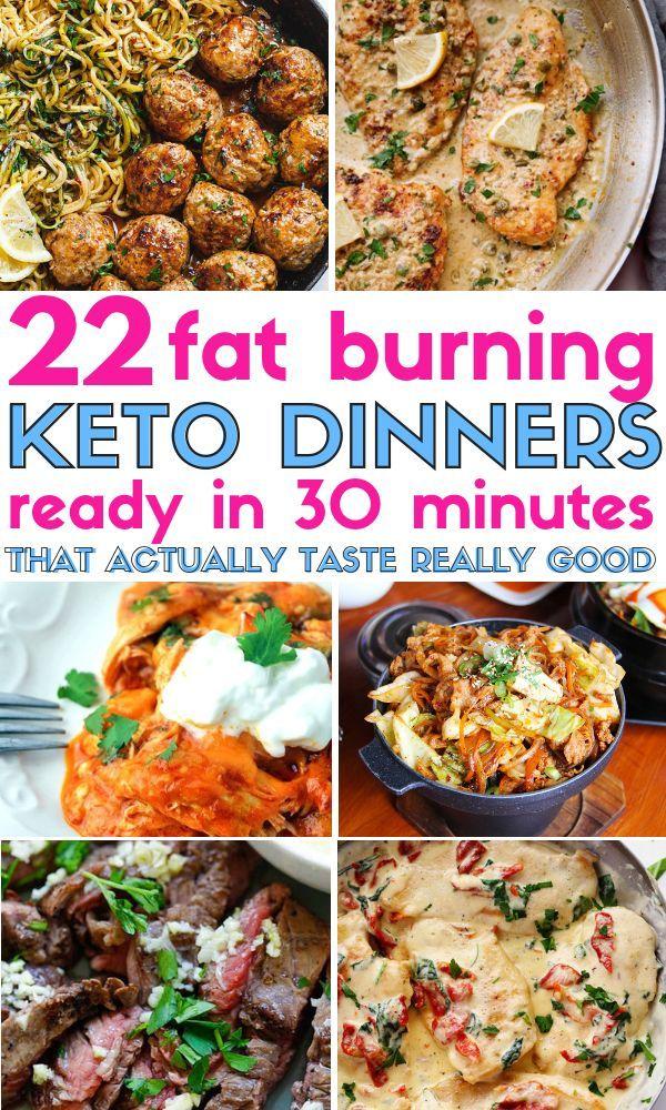 Photo of 22 Dumm-einfache schnelle Keto-Abendessen, die in 30 Minuten oder weniger fertig sind