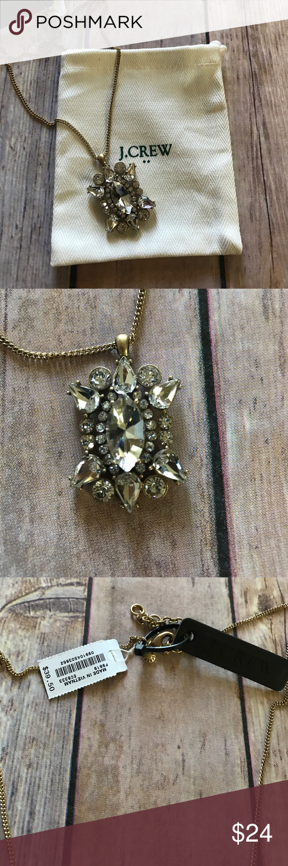 Sale jcrew stone necklace j crew factory beautiful stone pendant