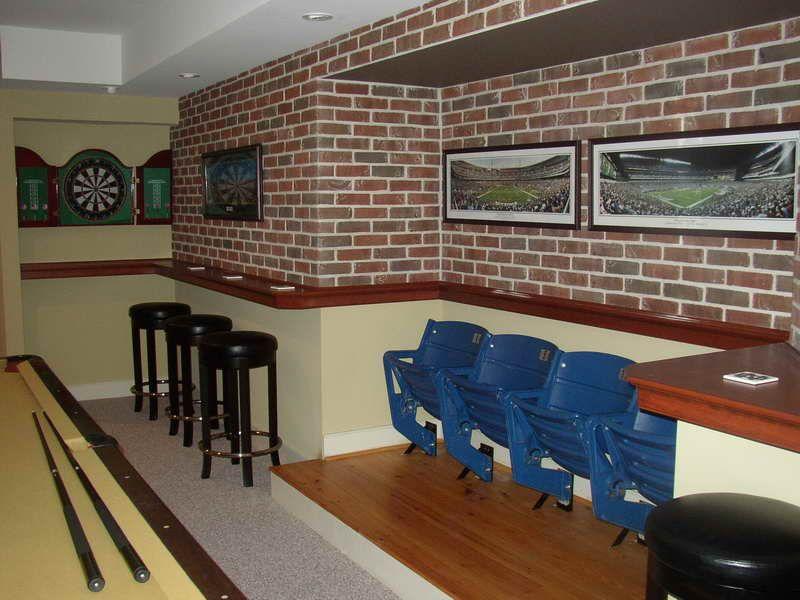 basement brick wall ideas Google Search Basement Pinterest