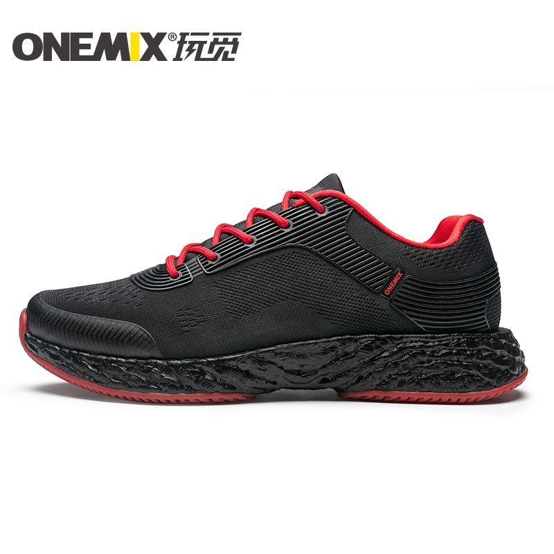 fa78a3dd805104 ONEMIX Men Running Shoes Good Rebound Lightweight Casual Outdoor Gym  Fitness Sneakers