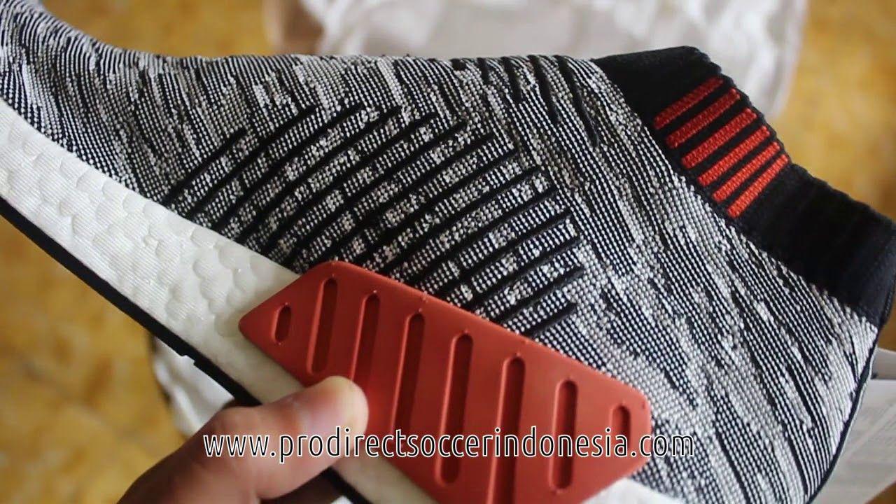 Sepatu Sneakers Grey Adidas NMD CS2 Primeknit Core Black Grey Sneakers BZ0515 bc7a6a