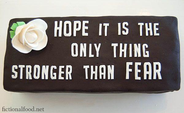 President Snow inspired cake