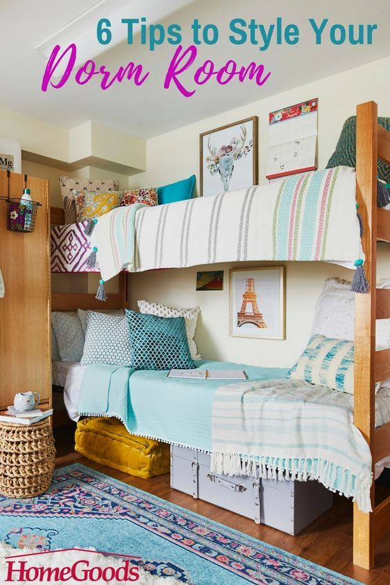 Small Dorm Room: Turning A Dorm Into A Home Away From Home