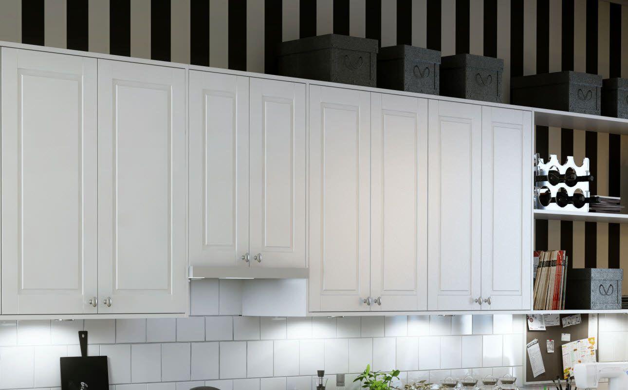 Marbodal Öland vit väggskåp | Kök | Pinterest | Kök
