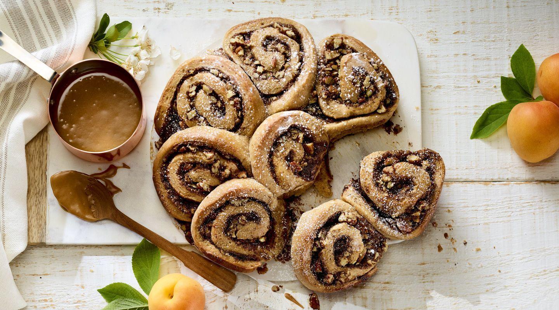 Vanilla Hazelnut Cinnamon rolls, Recipes, Rolls recipe
