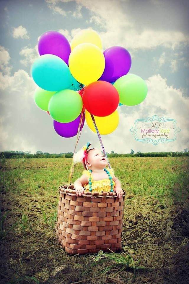 10 Month Photoshoot, Frisco, Texas Photography, Hot Air