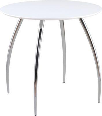 Euro Style Bistro Round MDF Table White Pinterest Euro - Staples round table