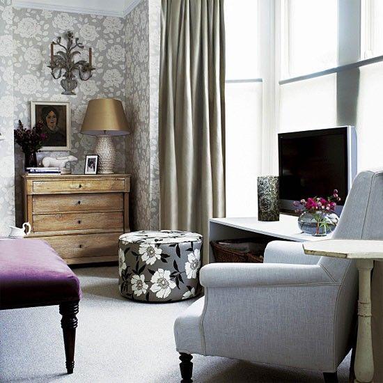 Traditionelles Wohnzimmer mit TV-Bereich Wohnideen Living Ideas - wohnideen tv wand