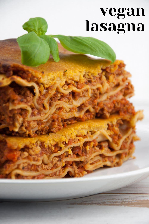 Photo of Vegan Lasagna with Nooch Cheese Recipe | Elephantastic Vegan