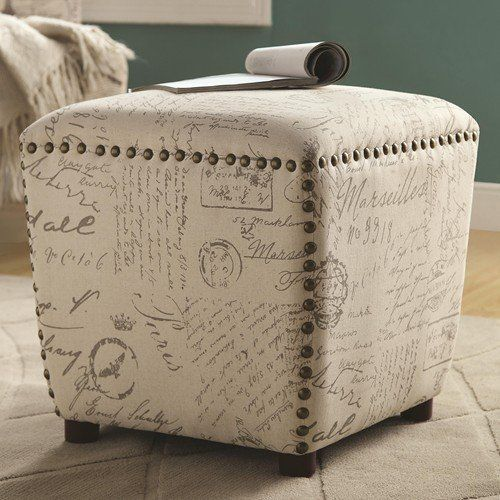 Coaster Home Furnishings 501108 Ottoman Upholstered in French Print Fabric with Nailhead Trim Coaster Home Furnishings http://www.amazon.com/dp/B00JFSW03I/ref=cm_sw_r_pi_dp_OVcAub0NAQFYQ