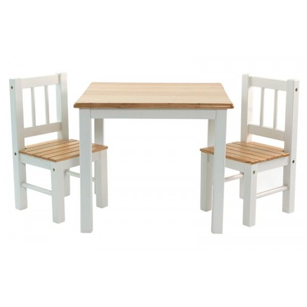 Kindertafel en stoeltjes Niels  Kindertafel en stoelen