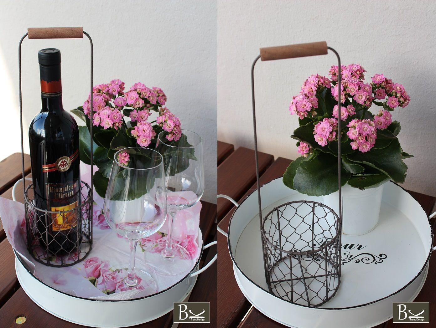 Verkauf über ebay (bk-trenddesign_de) Weinflaschenhalter Vintage ...