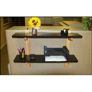 Shelf For Your Cubicle Cubicle Shelves Work Cubicle Cubicle Decor
