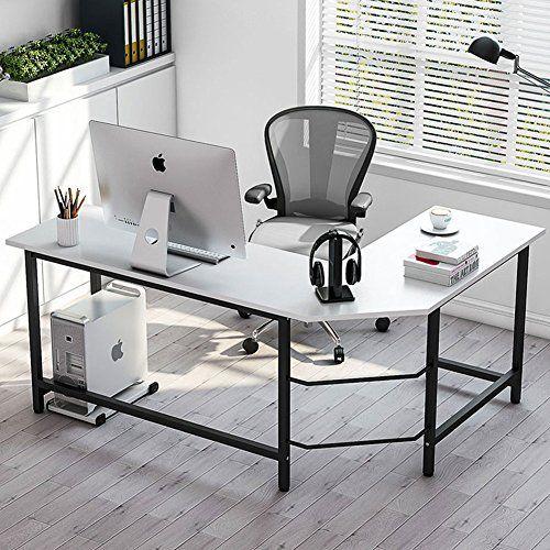 Tribesigns Modern L Shaped Desk Corner Computer Desk Pc
