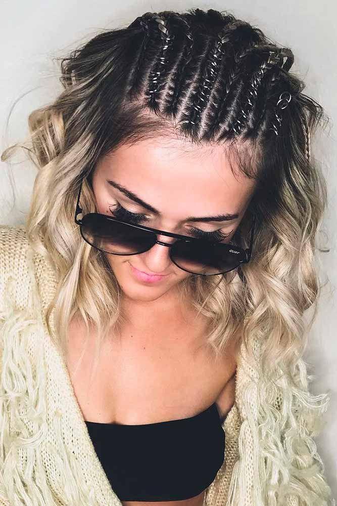 30 Chic Hairstyles For Medium Length Hair | Lovehairstyles.Com Hairstylesformediumhair - Hair Beauty