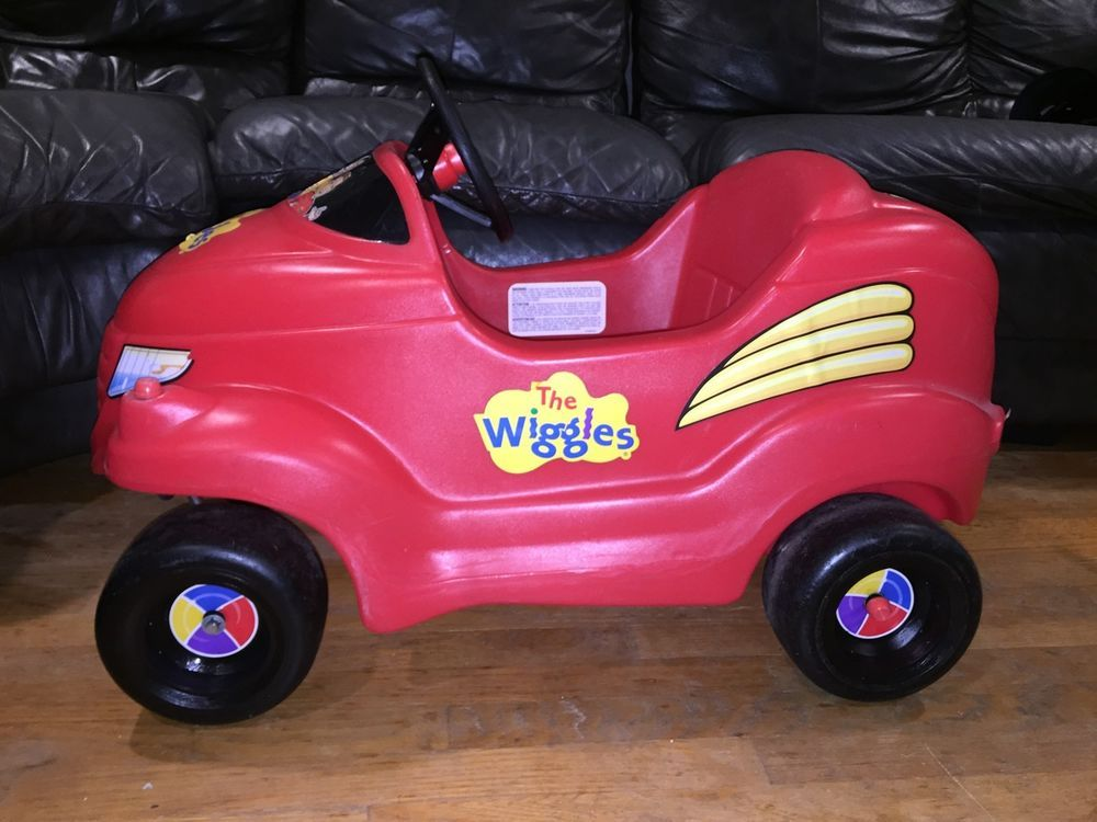 Little Tikes Ride On Toys : Little tikes the wiggles big red car ride on toy kids size htf