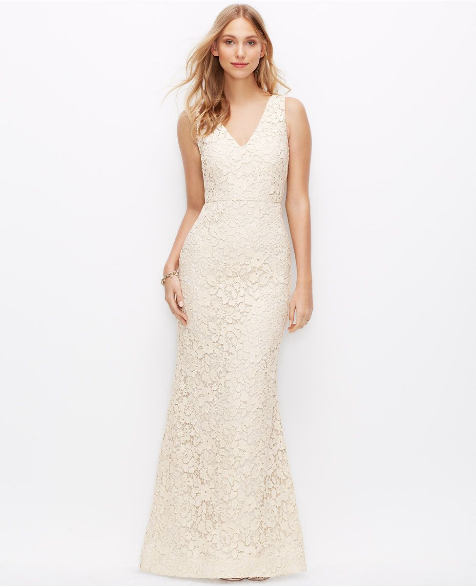 Ann Taylor - $895...Could also get 40% off. | Wedding Dresses ...