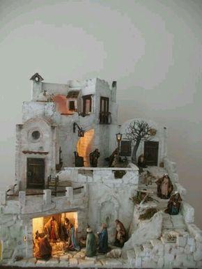 Que Te Parece Christmas Crib Ideas Nativity Scene Diy Christmas Nativity Scene