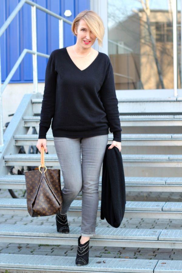 Skinny Jeans mit Stiefeletten