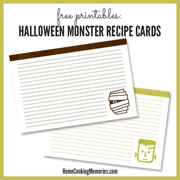 25 Free Printable Recipe Cards Recipe cards, Free printable and - recipe card
