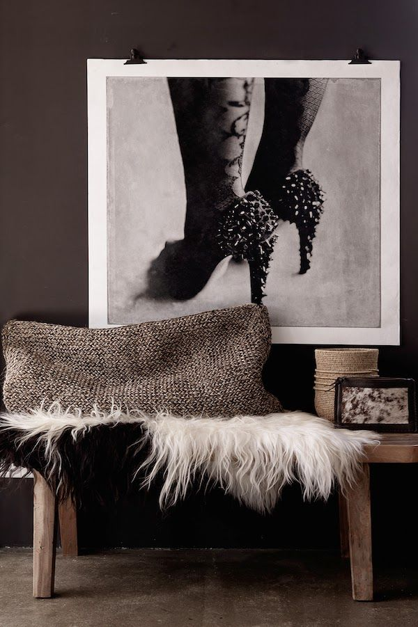 vosgesparis: Inspiration for your home | B&W photography X Natural colours