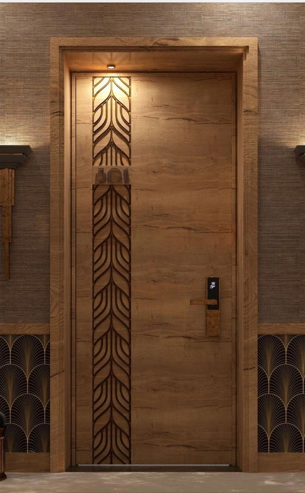 20+ Artistic Wooden Door Design Ideas To Try Right Now in ...