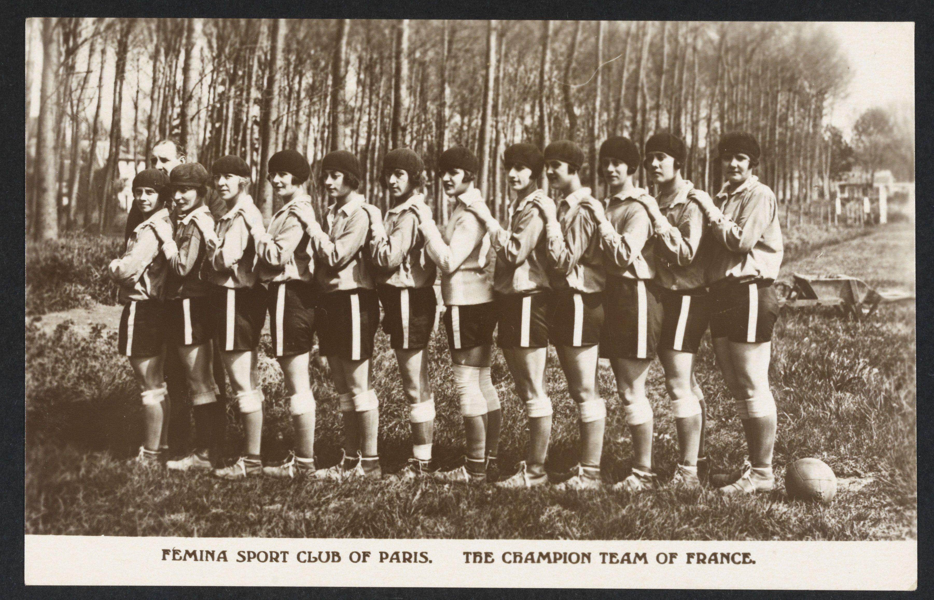 Femina Sport Club de Paris l'Equipe de France championne