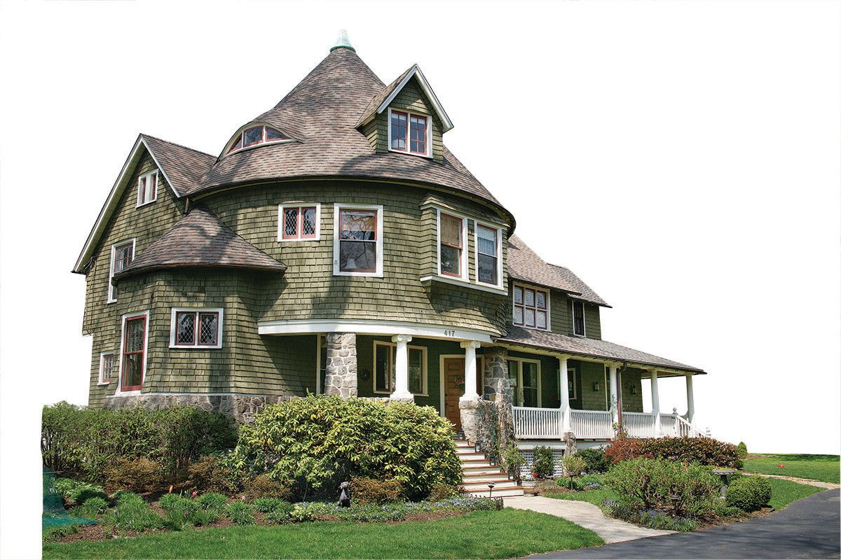 Main Line Philly Wayne Pennsylvania Expensive Houses Shingle Style Gambrel