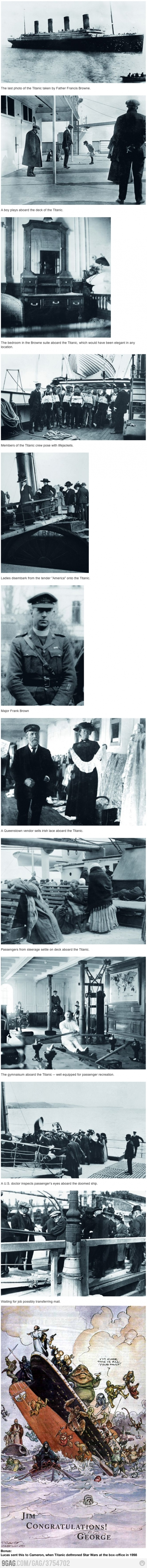 Some Pictures Of The Titanic You\'ve Never Seen | Things for My Wall ...