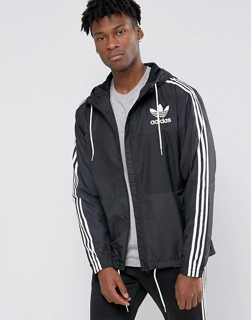 adidas Originals CLFN Windbreaker Jacket AY7747 at asos.com