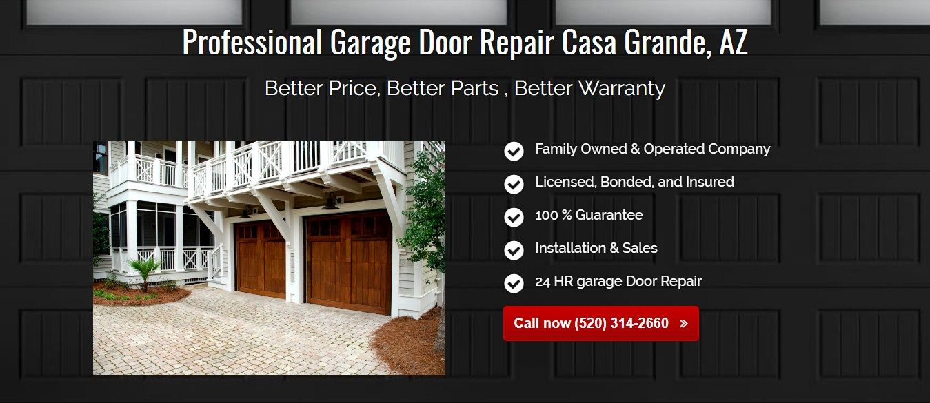 Mission Garage Door Repair Casa Grande 2021 N Pinal Ave 114