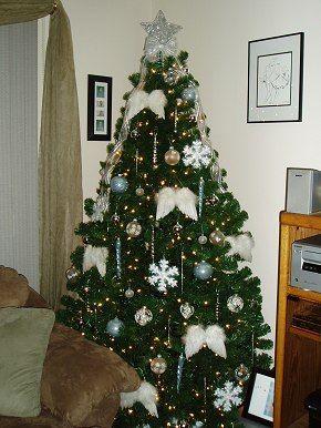 Angel Theme Christmas Tree Christmas Tree Themes Color Schemes Dot Com Women Christmas Tree Decorating Themes Christmas Tree Themes Holiday Christmas Tree