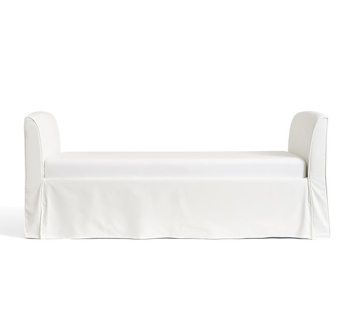 Lewis Slipcovered Daybed With Images Slipcovers