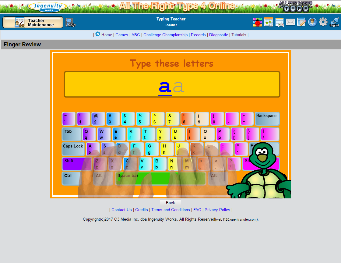 Typing Lessons All The Right Type 4 Online