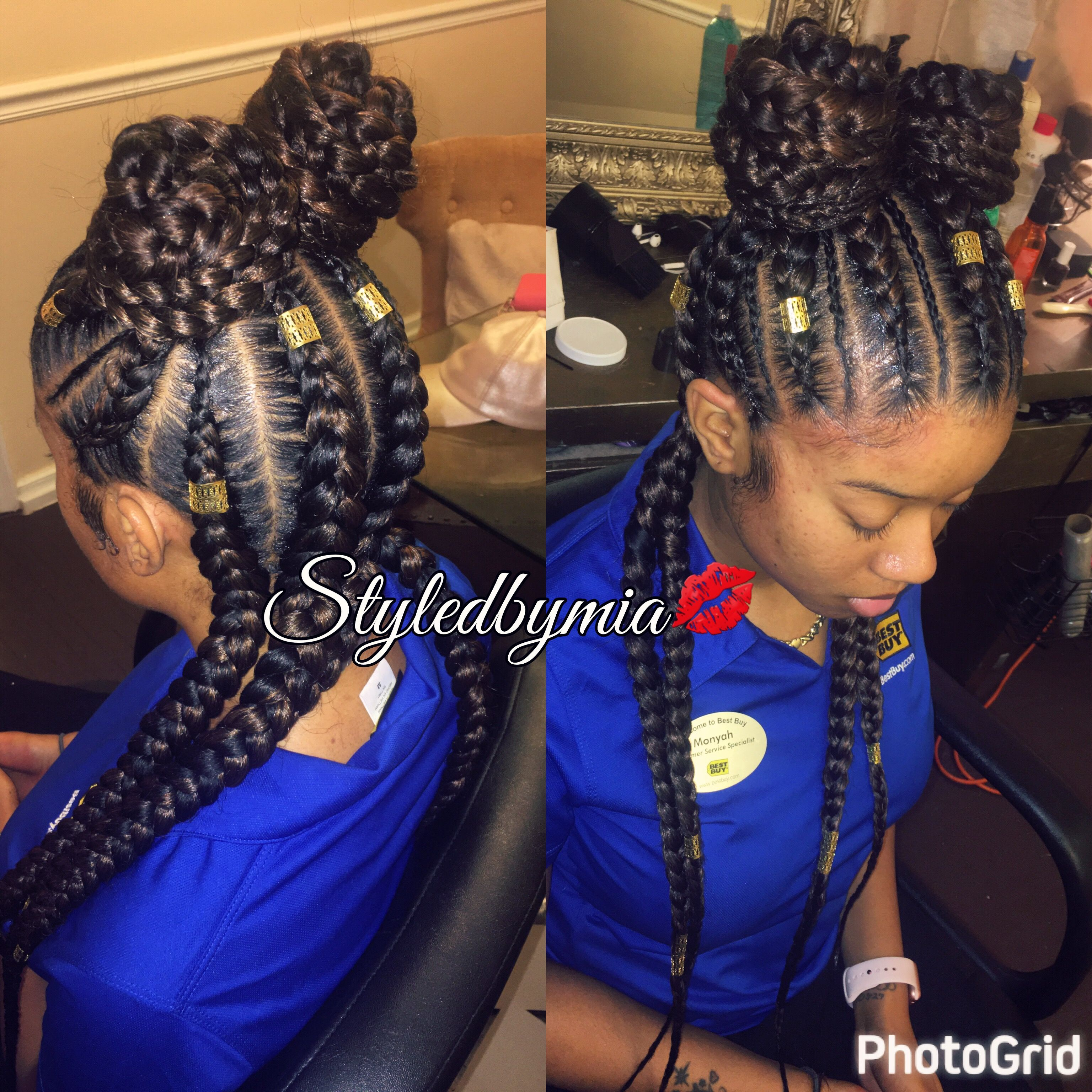 Feedin Braids Philadelphia 4312 Frankford Ave 2672427277 Iconichairstudiollc Swag Hairstyles Braided Hairstyles Hair Styles