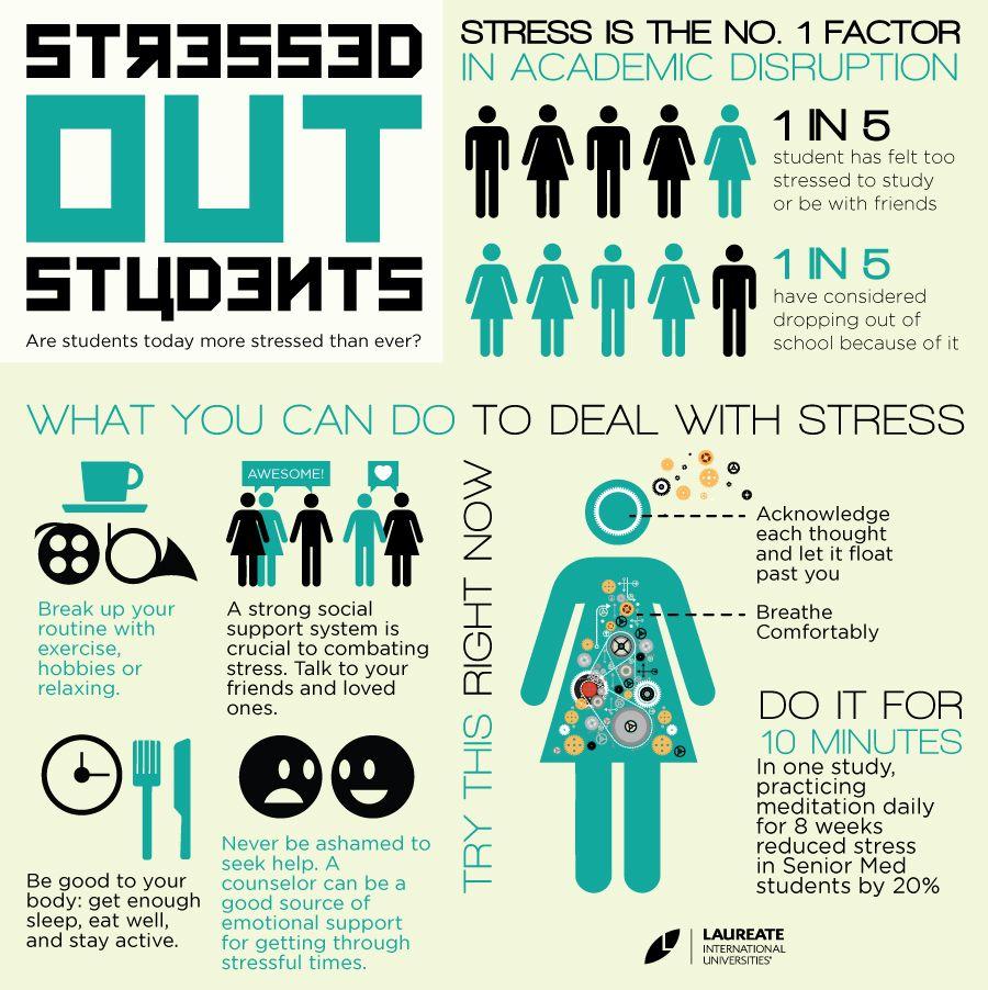 Rising numbers of stressed students seek help