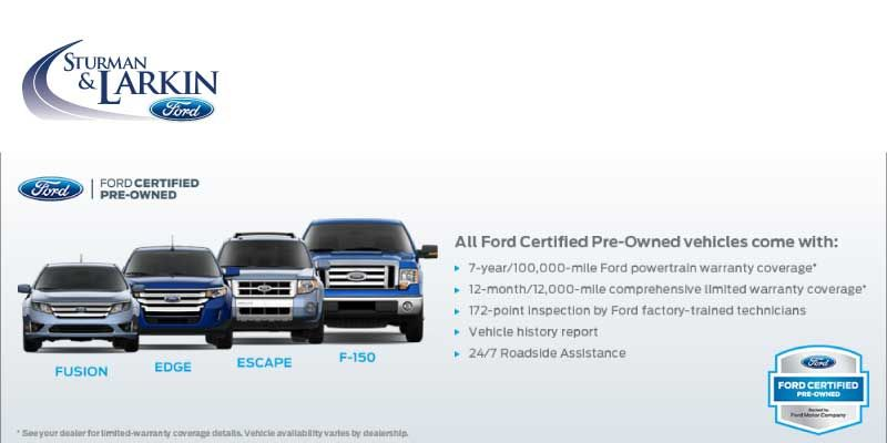 Pre Owned Cars And Trucks Sturman And Larkin Ford Cars Trucks Used Cars Trucks