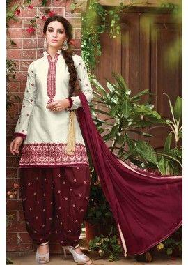 08594dc4ab Buy online Punjabi designer suits, Patiala salwar kameez for wedding  ceremony at Indian clothing online store Shopkund in UK