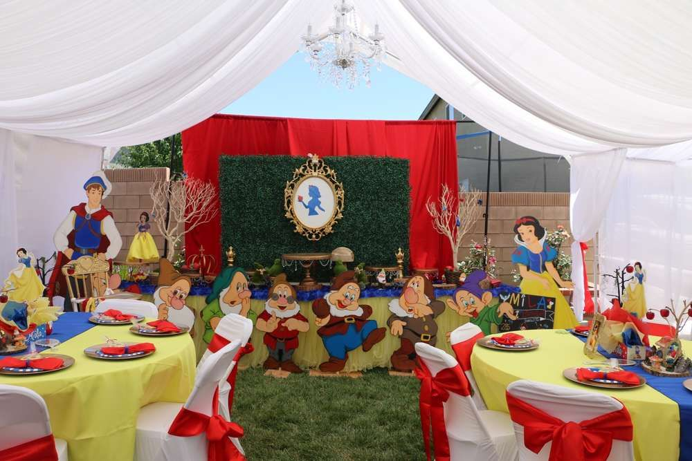 Snow White Birthday Party Ideas Snow White Party Snow White