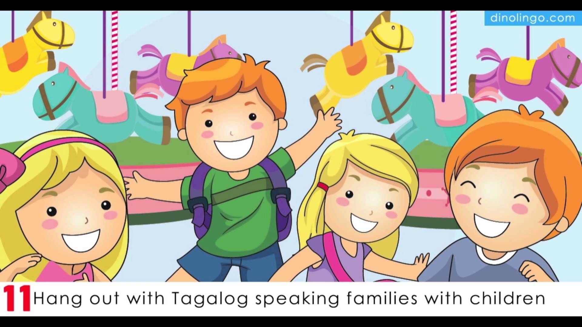 Teach Kids Tagalog