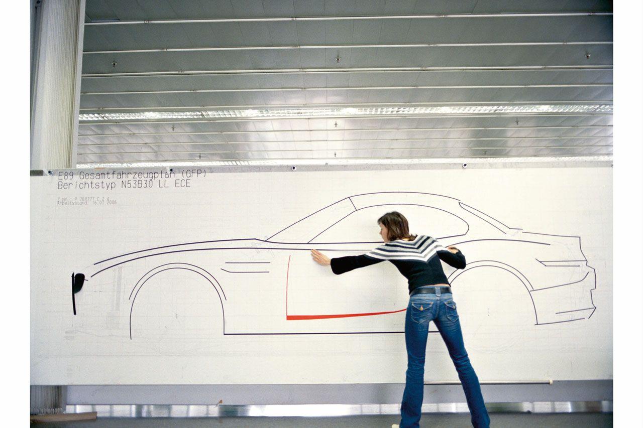 BMW Z4 Tape Drawing | Bmw z4, Bmw, Provocative