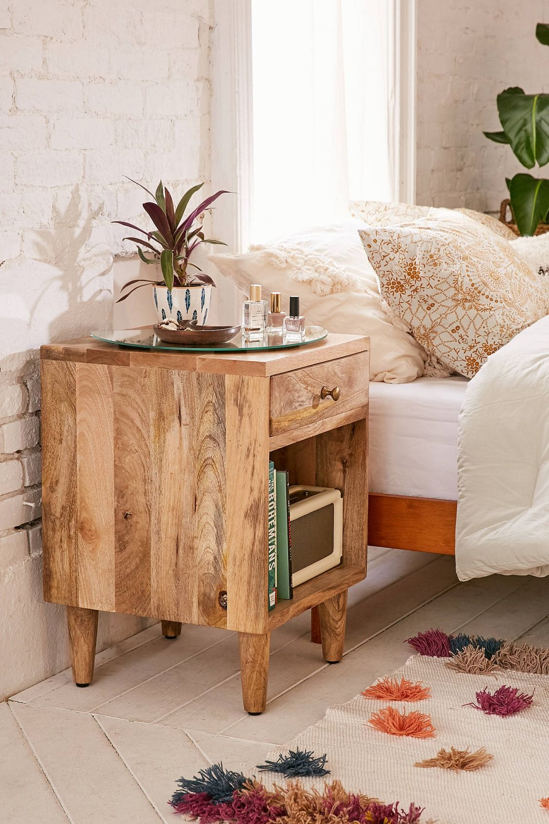 Casa Decoración Hogar Amelia Nightstand En 2019 Bedroom Casas En Mexico
