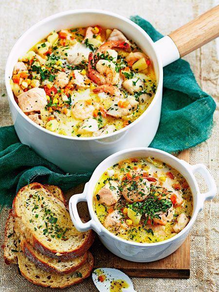 Fisch-Stew mit allerlei Gemüse Rezept | LECKER