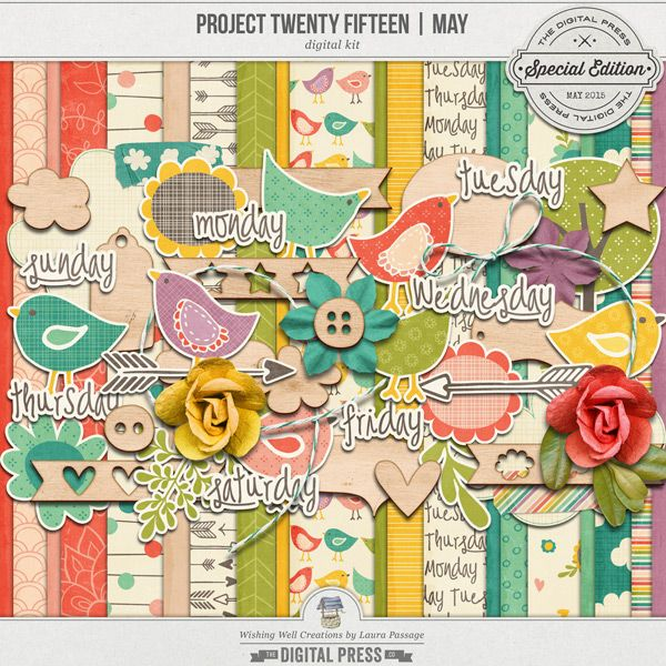 """Creations By Laura: May Kit By """"Wishing Well"""