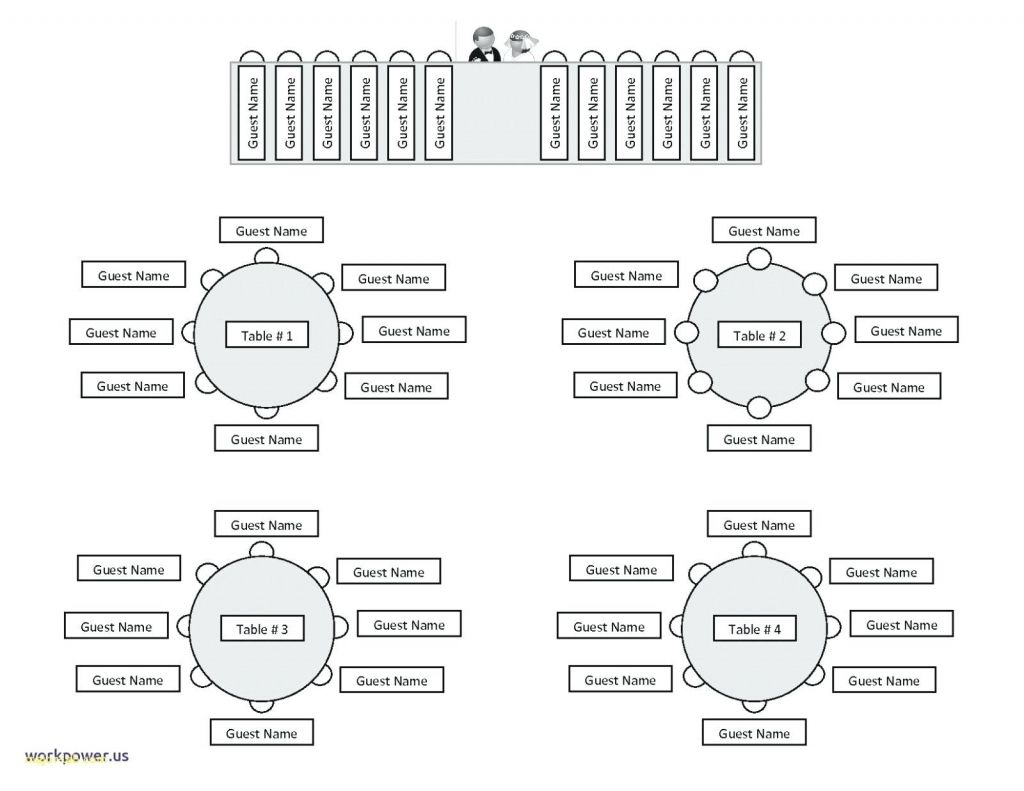 Amazing as well as Interesting seating chart template word