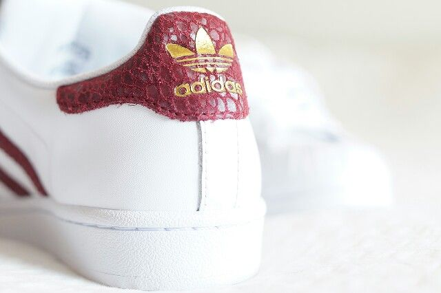 Adidas superstar blancbordeaux | Chaussure superstar