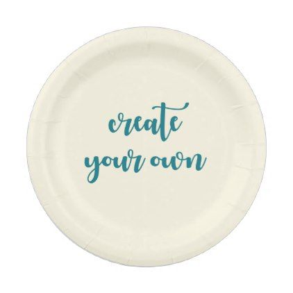 sc 1 st  Pinterest & You Design It Template Create your Own Paper Plate