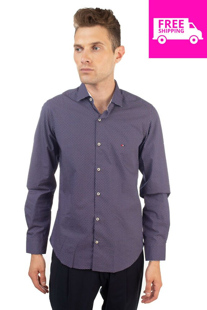 reputable site 24269 64479 WEBB & SCOTT CO. Shirt Size S Patterned Long Sleeve Regular ...