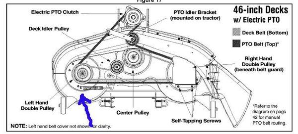 Yard Man 13a0771h055 Belt Diagram
